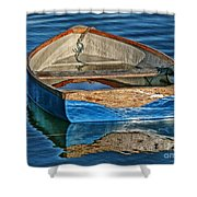Water-logged Shower Curtain
