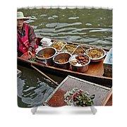 Water Market Thailand 1 Shower Curtain