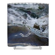 Water Mountain 1 By Jrr Shower Curtain