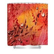 Water On Color Design Seven Shower Curtain
