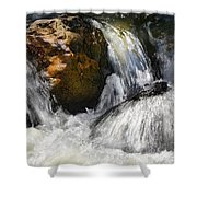 Water On The Rocks 2 Shower Curtain