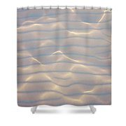 Water Patterns And Sunny Play Shower Curtain