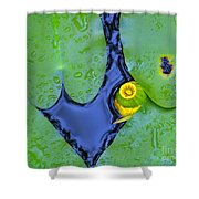 Water Plants 3 Shower Curtain
