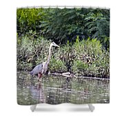 Water Pose Shower Curtain