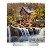 Water Powered Shower Curtain