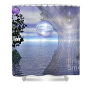 Water Protection Shower Curtain