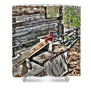 Water Pump In Nature Shower Curtain