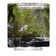 Water Reflection Shower Curtain