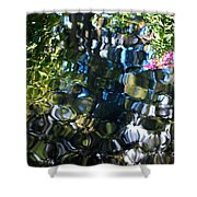 Water Reflections 9 Shower Curtain