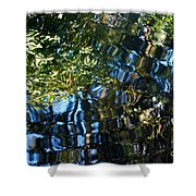 Water Reflections 7 Shower Curtain