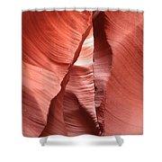 Water Sculpted Walls Shower Curtain