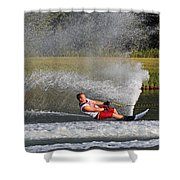 Water Skiing 10 Shower Curtain