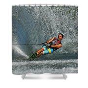 Water Skiing Magic Of Water 14 Shower Curtain