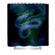 Water Snake Of The Abyss Shower Curtain