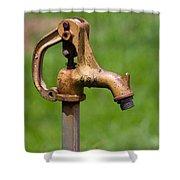 Water Spicket Or Spigot Shower Curtain