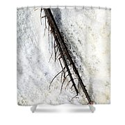 Water Strength Shower Curtain