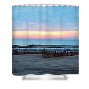 Water Sunset Shower Curtain