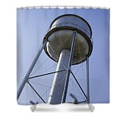 Water Tower Deer Lodge Montana Shower Curtain