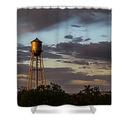 Water Tower Nm Shower Curtain