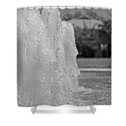 Water Trio Bw Shower Curtain