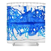 Water Variations 11 Shower Curtain