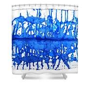 Water Variations 12 Shower Curtain