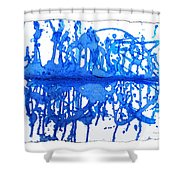 Water Variations 13 Shower Curtain