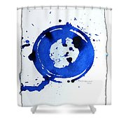 Water Variations 3 Shower Curtain