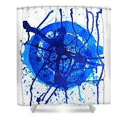 Water Variations 8 Shower Curtain