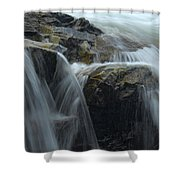Water Veil Shower Curtain