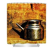 Water Vessel Shower Curtain by Prakash Ghai