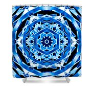 Water Walker Shower Curtain