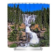 Water Water And More Water Hence Waterfall Shower Curtain