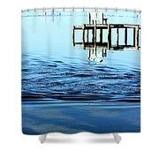 Water Works Shower Curtain
