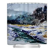 Watercolor 212103 Shower Curtain