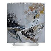 Watercolor 212152 Shower Curtain
