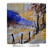Watercolor 311017 Shower Curtain