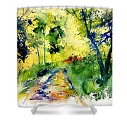 Watercolor 318012 Shower Curtain