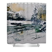 Watercolor 411072 Shower Curtain