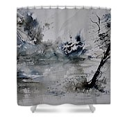 Watercolor 413052 Shower Curtain