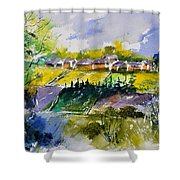 Watercolor 414022 Shower Curtain