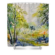 Watercolor 414061 Shower Curtain