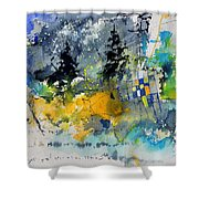 Watercolor 414062 Shower Curtain