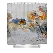 Watercolor 418022 Shower Curtain