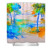 Watercolor 45314012 Shower Curtain