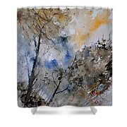 Watercolor 45319051 Shower Curtain