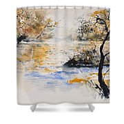Watercolor 45417042 Shower Curtain