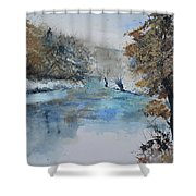 Watercolor 511003 Shower Curtain