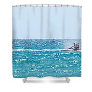Watercraft Shower Curtain