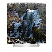 Waterfall 4 Shower Curtain